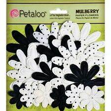 Mulberry Paper Embossed Daisies 18/Pkg. Brand New