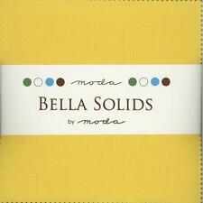 Bella Solids Buttercup  Charm Pack by Moda, 42 5-inch Precut Squares 9900PP-51