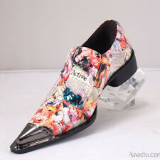 XL159 Clevis Fashion Shoe Loafer Multi Color Lady Magazine Patent Leather Hot...