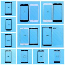 Brand New Black / White Front Touch Screen Outer Glass Lens Replace For LG Phone