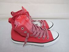 New Girls Converse All Star Party Hi Top Athletic Sneaker Shoes 640509F Pink 52D