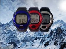 2018 new Sports Running Pulse Heart Rate Monitor Pedometer Counter Wrist Watch
