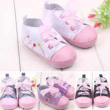 New Baby Shoes Kids Boys Girls Canvas Shoes Soft Soles Prewaler Sports Sneakers