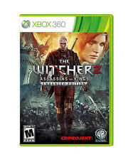 Witcher 2: Assassins of Kings -- Enhanced Edition  (Xbox 360, 2012) Complete