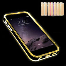 Clear LED Flash Light Silicone Incoming Call Case Cover for iPhone 6 6s Plus Cap