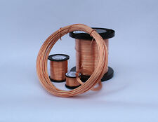 BARE SOFT PURE COPPER WIRE  0.9 - 5mm full SIZE range / unplated  solid 500g