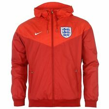 Nike England Entrance Wind Run Jacket Mens Red Football Soccer Track Top