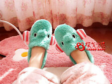 Soft Cute Adorable Warm Bow Style Indoor Anti-slip Slippers for Men/Women