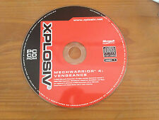 Mechwarrior 4 Vengeance Expansion pack. PC game. Disc Only
