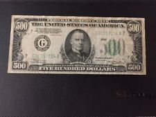 1934-A $500 Federal Reserve Note Bank Chicago