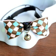 Cute Adjustable Puppy Kitten Dog Cat Pet Bow Tie With Bell Necktie Collar 1Pcs