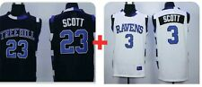 Special Bundle Nathan Scott 23 & Lucas Scott  One Tree Hill Movie Ravens Jersey