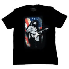 JERRY GARCIA MENS T SHIRT OLD GLORY JIM MARSHALL PHOTO GRATEFUL DEAD