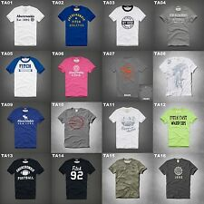 NWT ABERCROMBIE & FITCH MENS GRAPHIC TEE MULTI COLOR SIZE XXL A&F