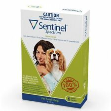 Sentinel Spectrum Green for Small Dogs (4-11kg)   FREE Shipping to select Aus...