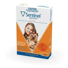 Sentinel Spectrum Orange for Very Small Dogs (Up to 4kg)   FREE Shipping to s...