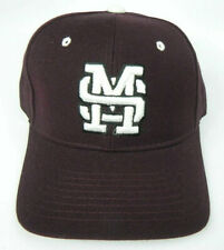 MISSISSIPPI ST. STATE BULLDOGS MAROON NCAA VINTAGE FITTED ZEPHYR DH CAP HAT NWT!