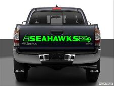 Seattle Seahawks Windshield or Tailgate Banner Decals choice of color and size!