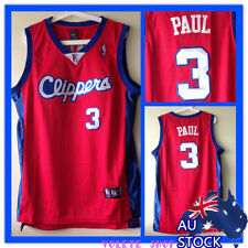 "NBA Jersey ""CP3"" Chris Paul #3 Los Angeles Clippers RED adult kid"