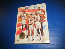 Olympic Team USA Basketball 1992 puzzle Stockton Malone Magic Johnson Mullin NBA