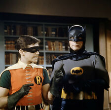 Art print POSTER Dynamic Duo Batman and Robin Planning Strategy