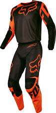 Fox Racing Youth Black/Orange 180 Race Dirt Bike Jersey & Pants Kit Combo ATV MX