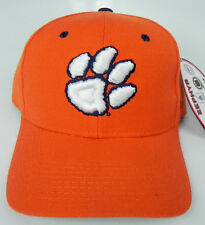CLEMSON TIGERS ORANGE NCAA VINTAGE FITTED SIZED ZEPHYR DH CAP HAT NWT!