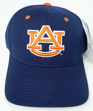 AUBURN TIGERS NAVY NCAA VINTAGE FITTED SIZED ZEPHYR DH CAP HAT NWT!
