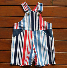 Baby Boys Overalls/Shortalls. Basic Blue Adorable Size 00 Size 0 AND  Size 1
