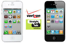 Apple iPhone 4S 16GB Verizon Straight Talk Smartphone Black OR White