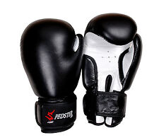Spedster Premium Leather Boxing  Gloves MMA Punch Bag Muay Thai Kick Boxing