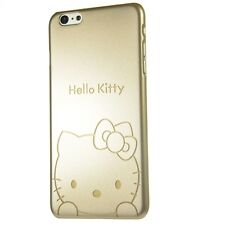 Hello Kitty Case Golden Series Hard Plastic Cover Skin for Apple iPhone Bumper