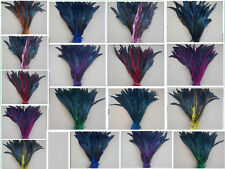 Wholesale! 5-100pcs Natural rooster tail feathers 30-35cm/12-14inch Hot!