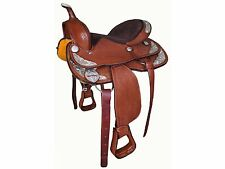 "Tahoe ""Silverado"" Basket Tooled Western Show Saddle - Warehouse Deal!"