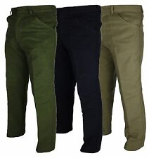 Mens Moleskin Windproof Outdoor Trousers W 32 - 46 Country Wear Work Pants Warm