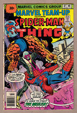 Marvel Team-Up #47 Spider-Man/Thing Rare 30-Cent Price Variant