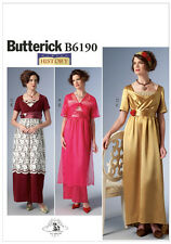 Butterick 6190 Making History Edwardian Downton Abbey Dress Sewing Pattern B6190