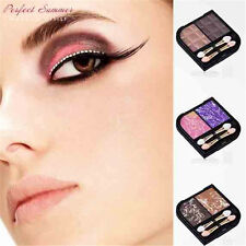 2 colors  Eyeshadow Palette Eye Shadow Brushes Compact Mirror Eye Makeup Kit