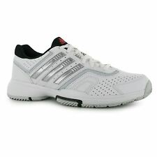 Adidas Barricade Court Tennis Shoes Womens White Trainers Sneakers