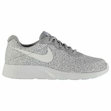 Nike Tanjun Print Sports Lifestyle Trainers Womens Grey/Grey Sneakers Shoes