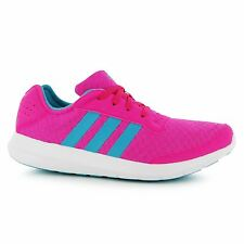 Adidas Element Refresh Running Shoes Womens Pink/Green Fitness Trainers Sneakers