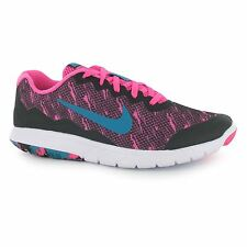Nike Flex Expert Experience 4 Running Shoes Womens Pink/Blk/Bl Trainers Sneakers