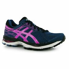 Asics Gel Cumulus 17 Running Shoes Womens Blue/Pink Fitness Trainers Sneakers