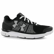 Under Armour MicroG Speedswift Running Shoes Womens Black Run Trainers Sneakers