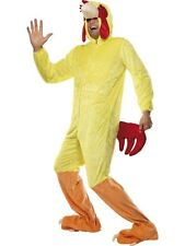 SALE Adult Farm Animal Easter Chicken Mens Fancy Dress Stag Party Costume Outfit