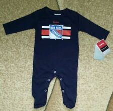 NEW YORK RANGERS baby romper suit  bodysuit navy blue 0-3,3-6,6-9 month NWT
