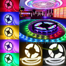 150/300/600/1200 LEDs SMD 3528/5050/5630 RGB RGBWW Flexible Strip String Light