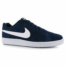 Nike Court Royale Suede Trainers Mens Navy/White Casual Sneakers Shoes Footwear