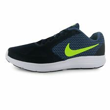 Nike Revolution 3 Running Shoes Mens DBlue/Volt Fitness Sports Trainers Sneakers