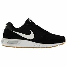 Nike Nightgazer Low Top Running Shoes Mens Black/White Fitness Trainers Sneakers
